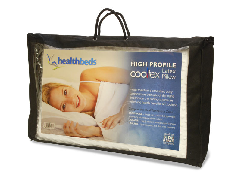 Healthbeds High Profile Latex Pillow