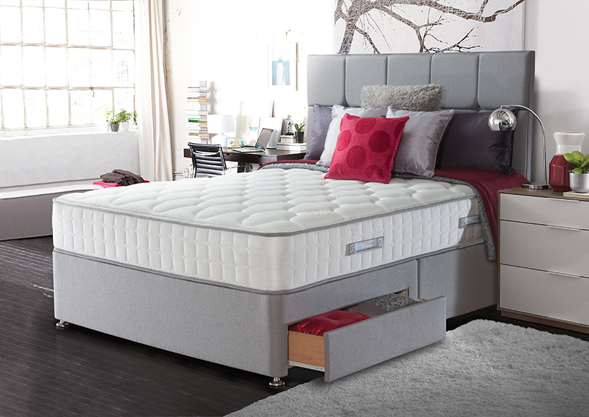 Sealy Casoli Pocket 1200 Latex Divan Bed