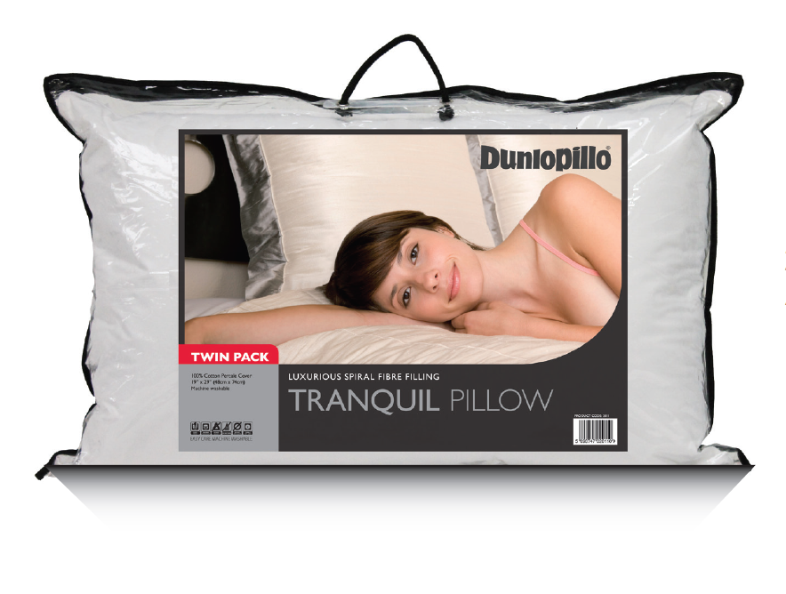 Dunlopillo Tranquil Pillow Pair (£19.99)