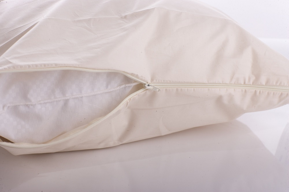 Cottonfresh Natural Cotton Pillow Encasement Cover