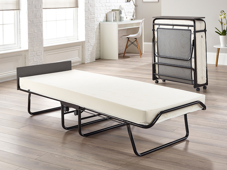 Jay-Be Visitor Automatic Folding Bed With Contract Mattress