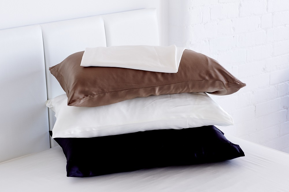 Mulberry Silk Pillowcase 100 19 Momme Black From
