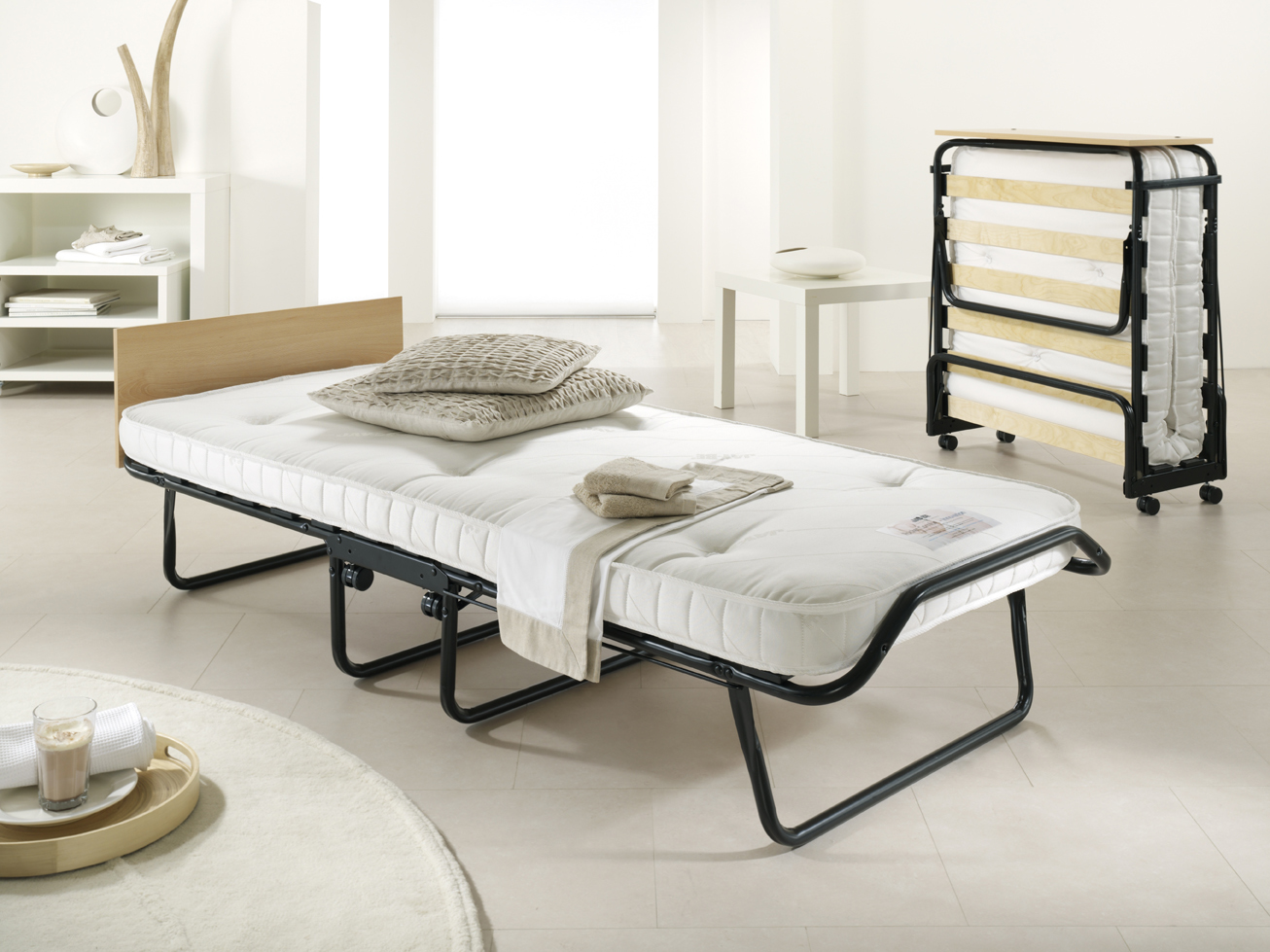 Jay-Be Royal Pocket Sprung Folding Bed single