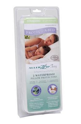 Protect a Bed AllerZip Terry Pillow Encasements