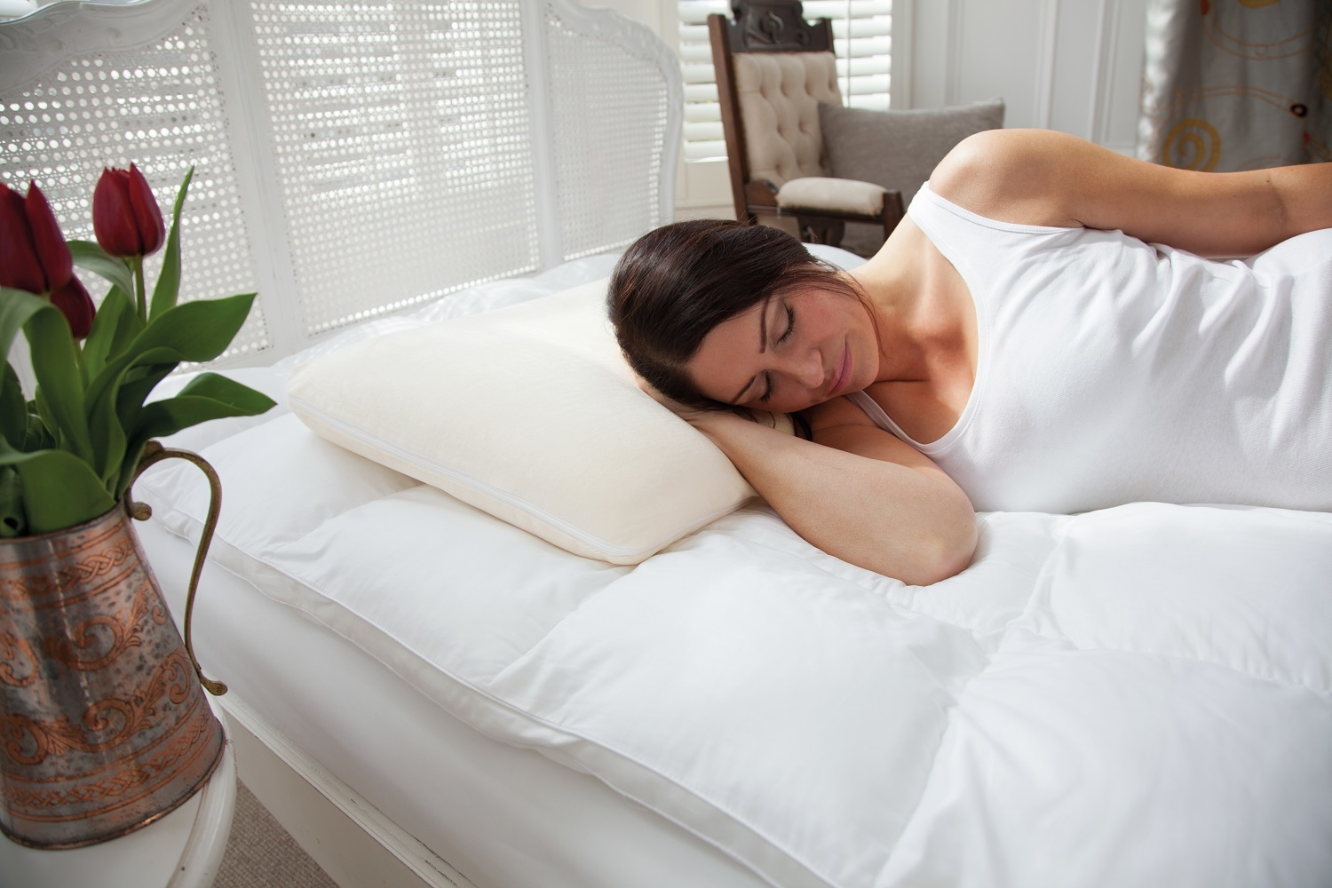 The Fine Bedding Company Traditional Memory Foam Pillow from SlumberSlumber.com