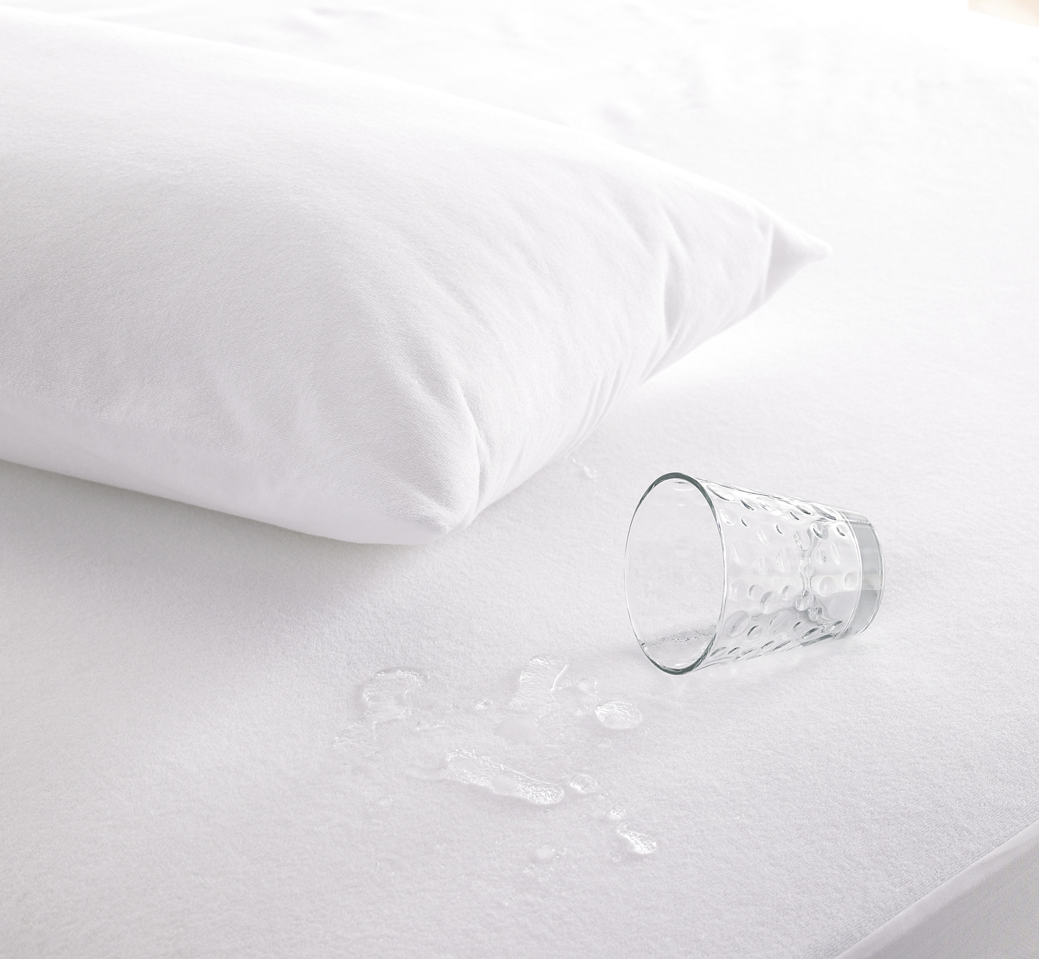 The Fine Bedding Co Complete Care Waterproof Pillow Protector