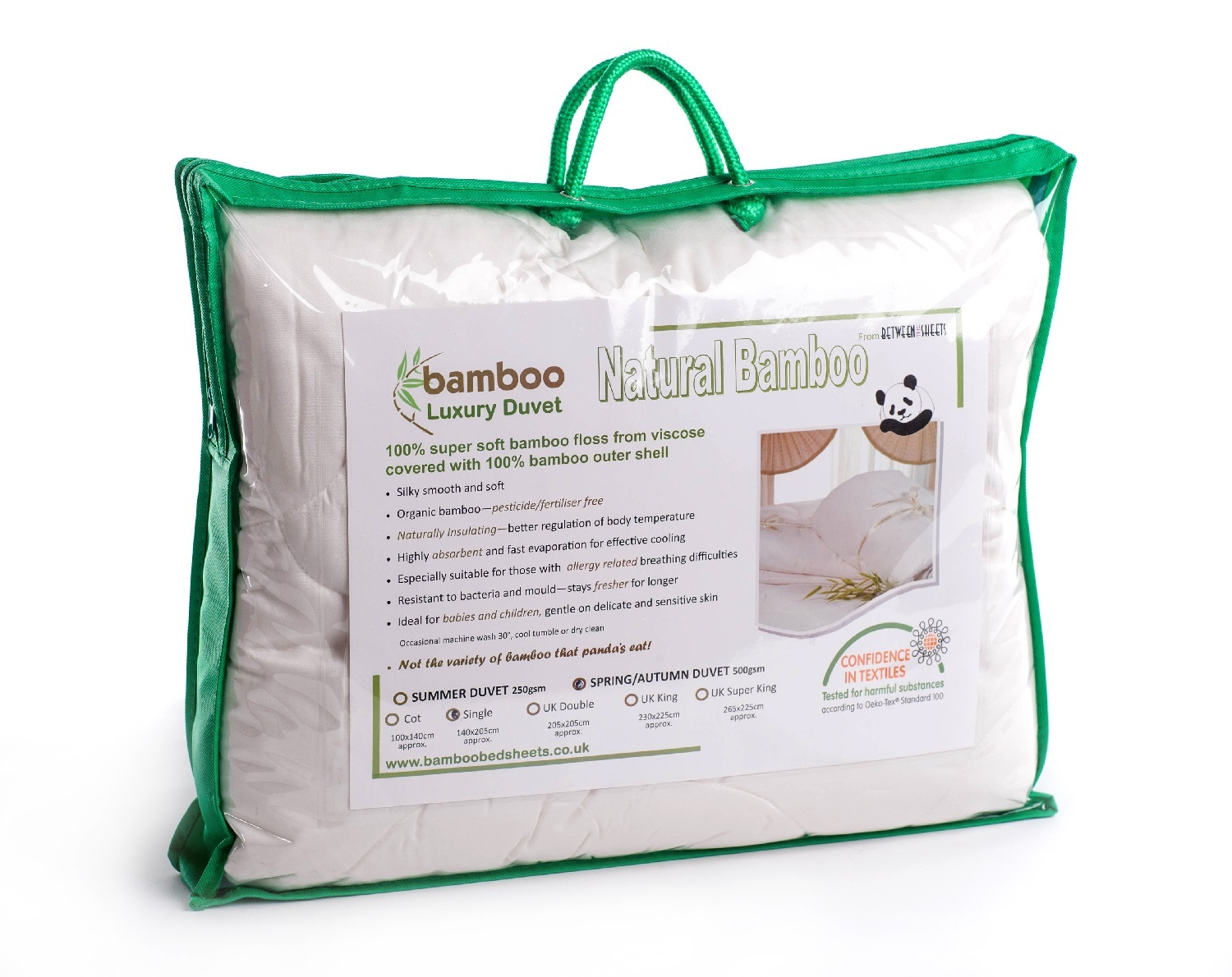 Between The Sheets Bamboo Duvet 500gsm