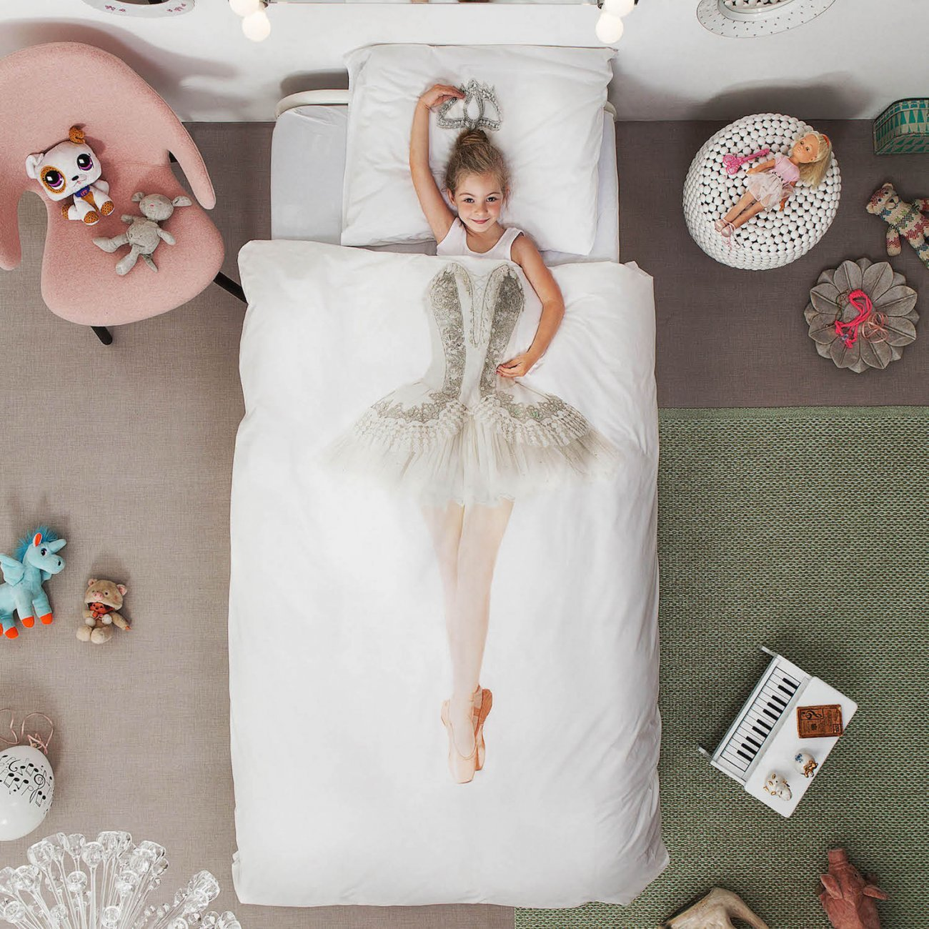 Snurk Ballerina Duvet Cover & Pillowcase