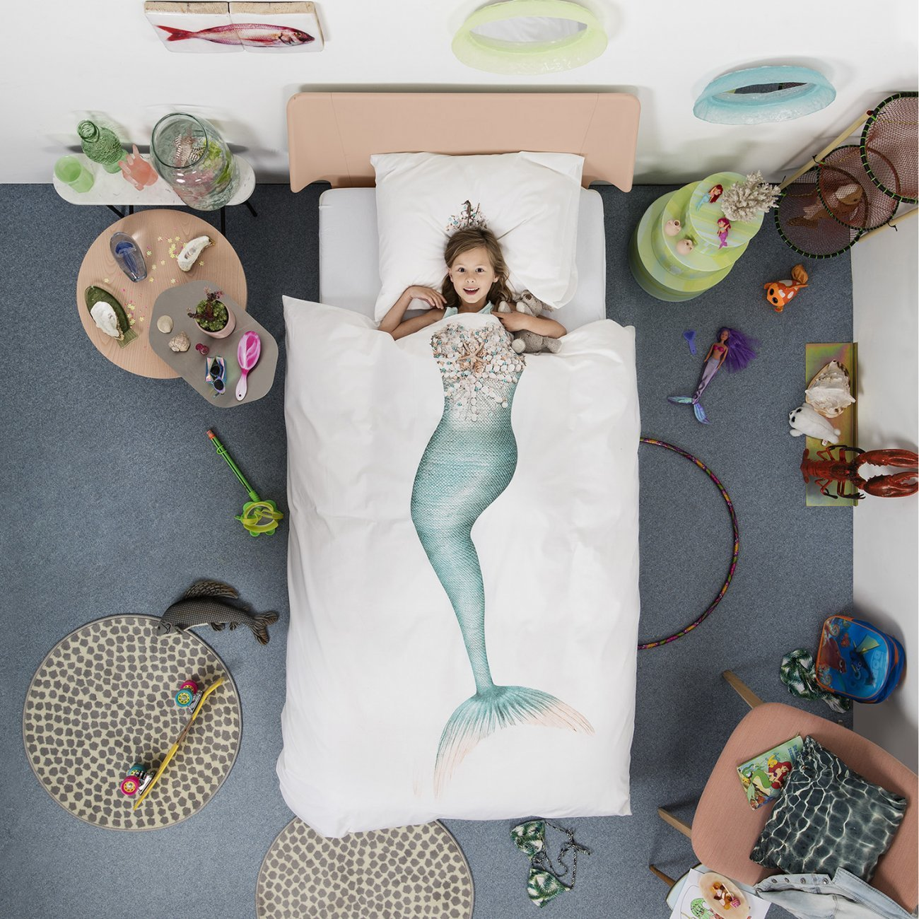 Snurk Mermaid Duvet Cover & Pillowcase