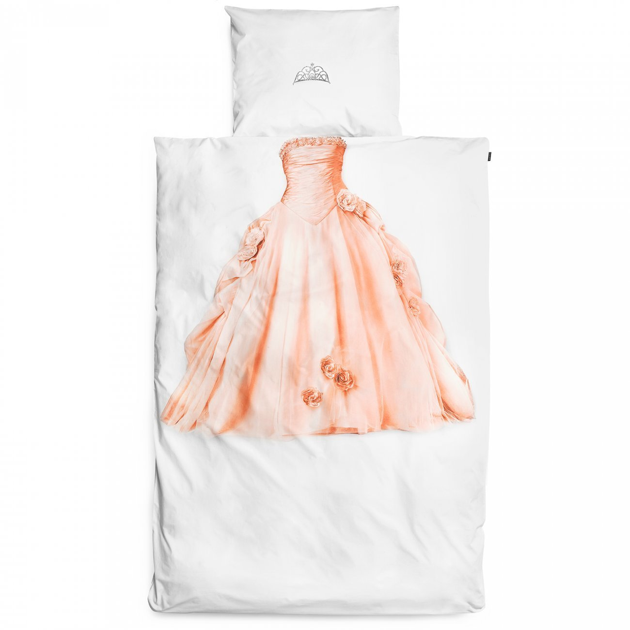 Snurk Princess Duvet Cover & Pillowcase Pink