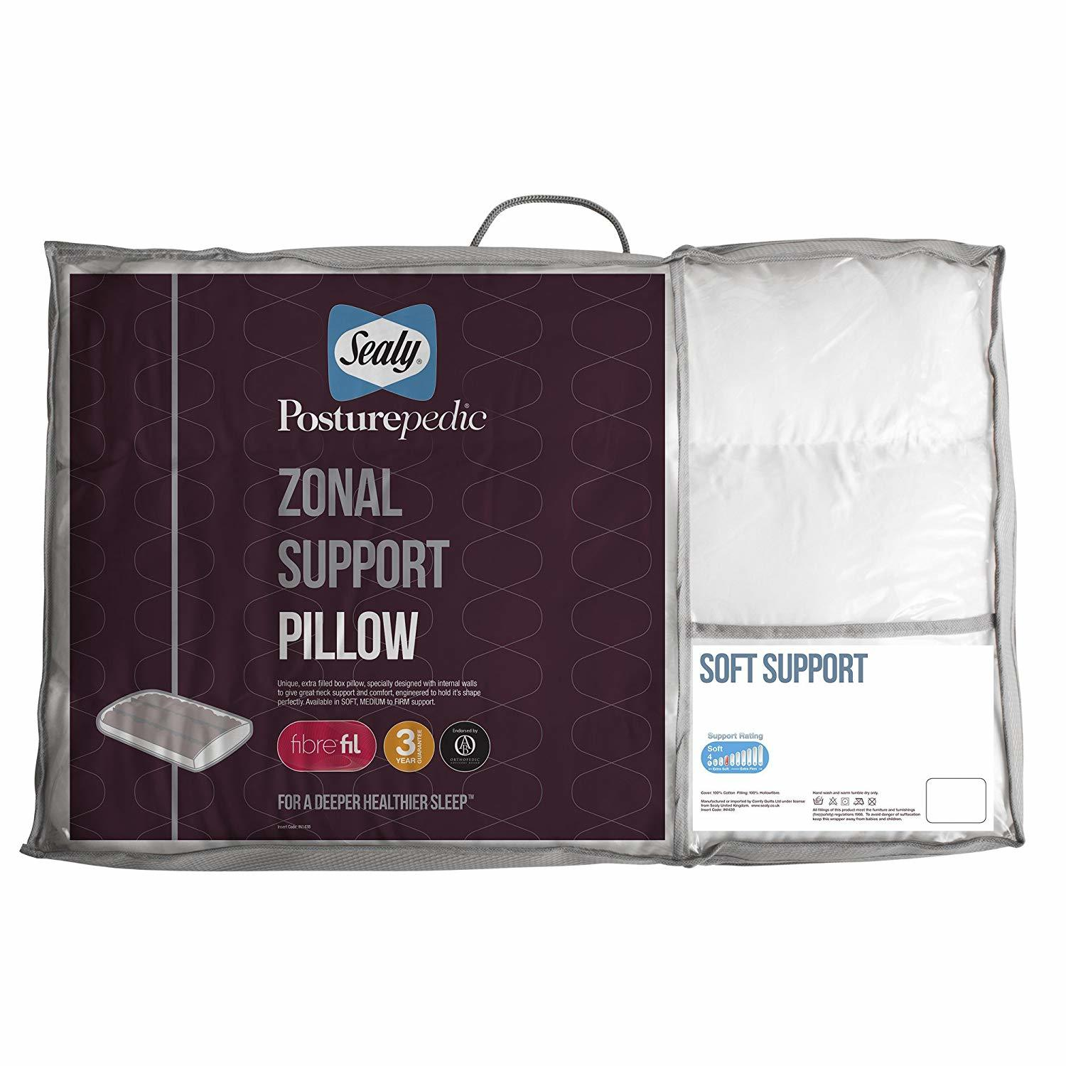 Sealy Posturepedic Zonal Support Pillow Soft