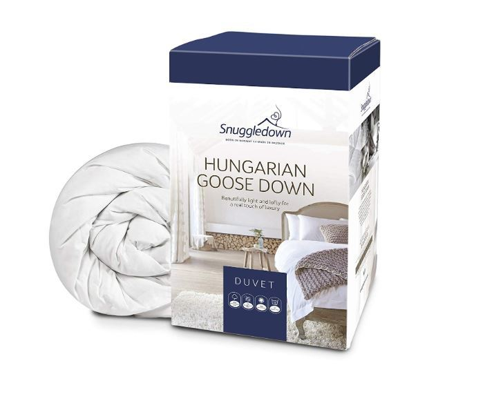 Snuggledown Ultimate Hungarian Goose Down 4.5 Tog Duvet