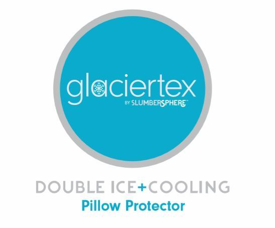 Glaciertex Double Ice Cooling Pillow Protector