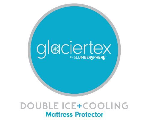 Glaciertex Double Ice Cooling Mattress Protector