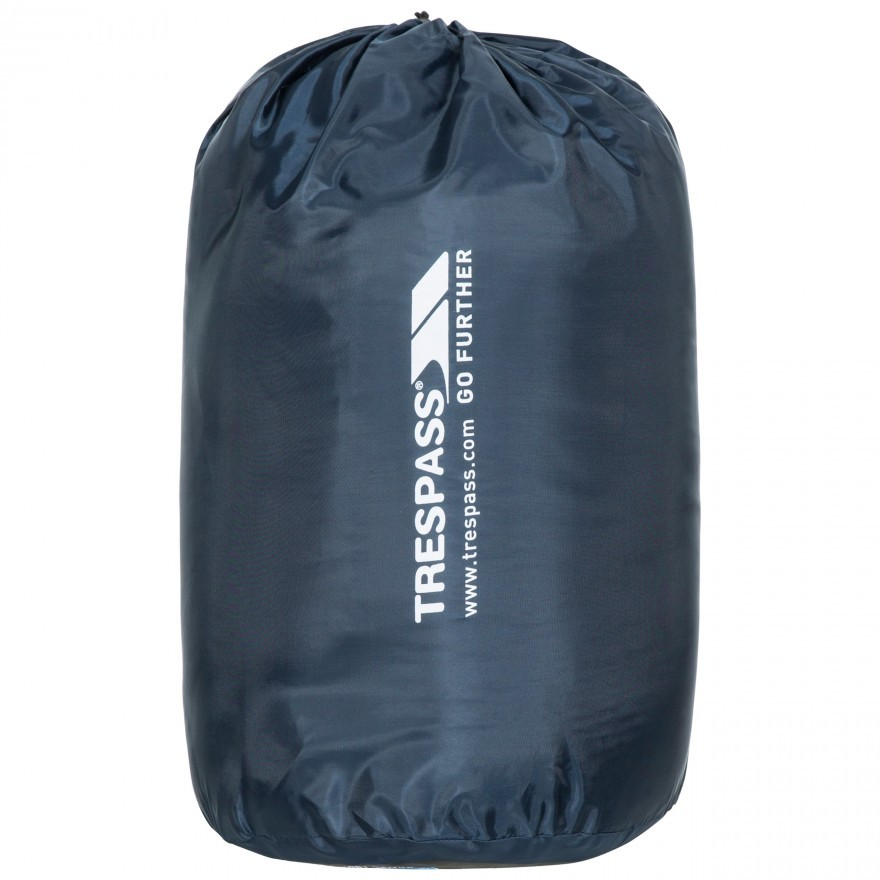 Trespass Catnap 3 Season Double Sleeping Bag - Navy