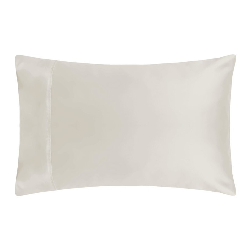 Belledorm 600TC Cotton Sateen Housewife Pillowcase ivory