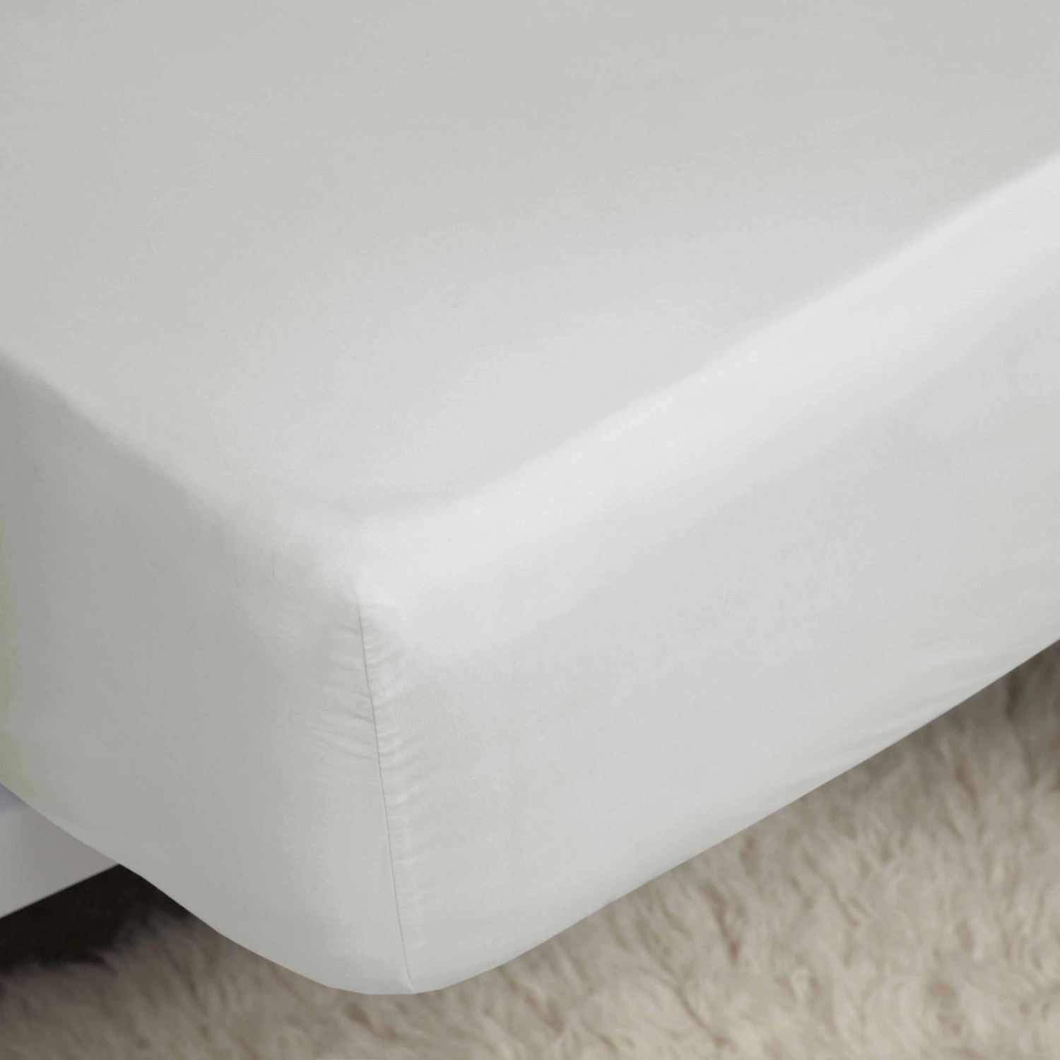 Belledorm 1000TC Egyptian Cotton Fitted Sheet ivory