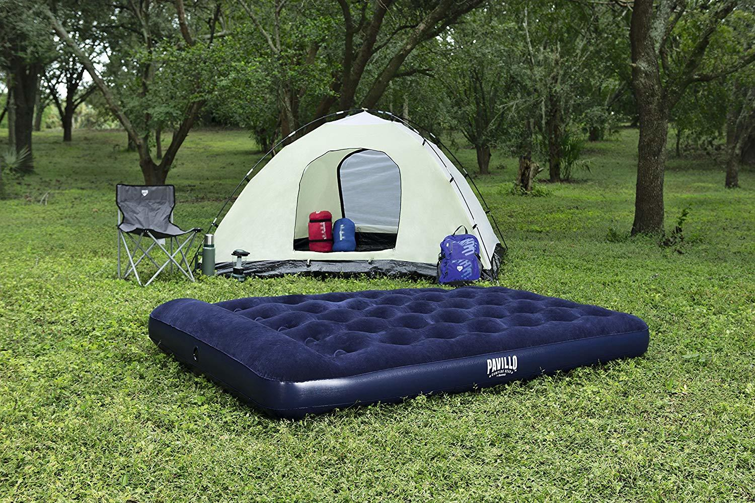 Bestway Pavillo Easy-Inflate Airbed with Built-In Foot Pump - Double