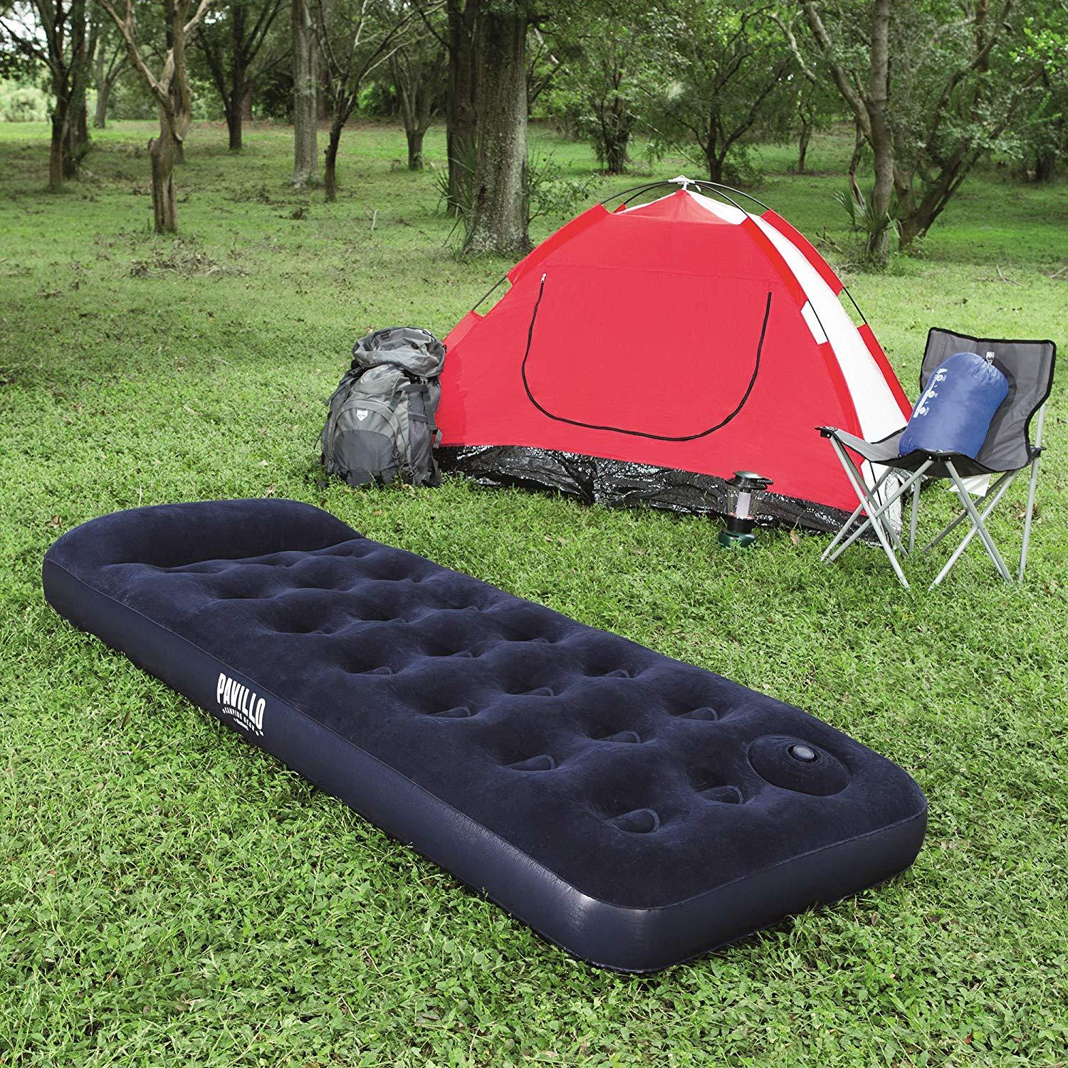 Bestway Pavillo Easy-Inflate Airbed With Built-In Foot Pump - Single