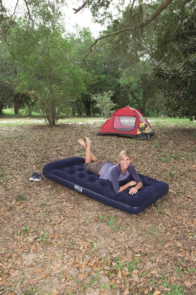Bestway Easy-Inflate Airbed With Built-In Foot Pump - Twin