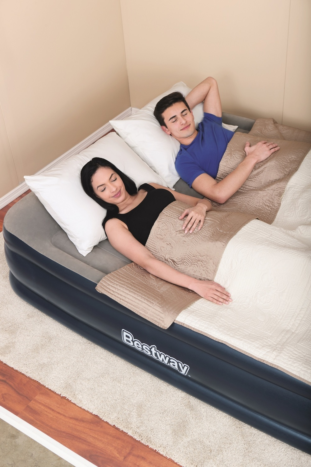 Bestway Airbed With Built-In AC Pump - Double