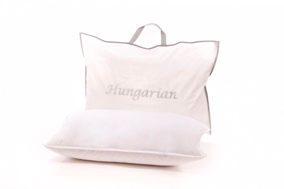 Hungarian Goose Down Pillow The Soft Bedding Company