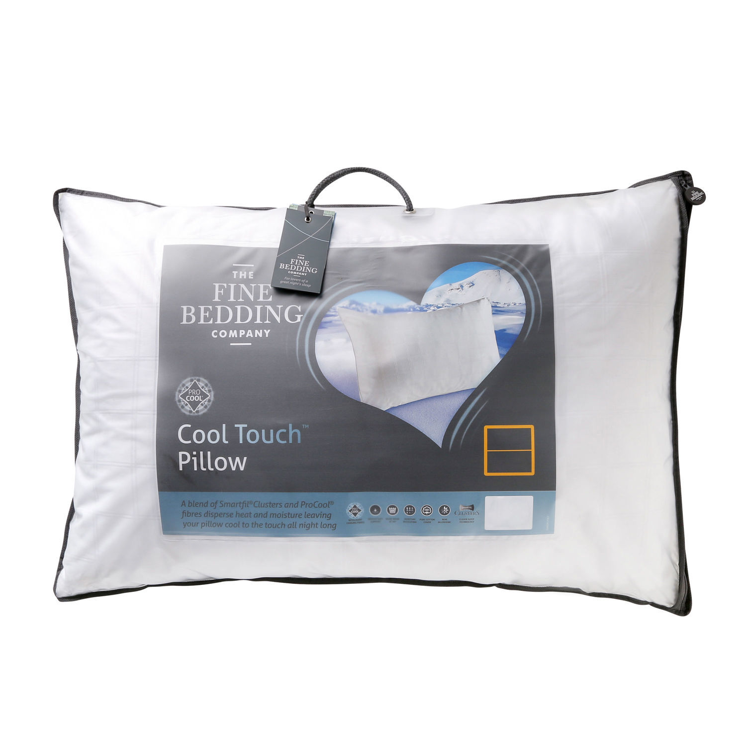 The Fine Bedding Co. Cool Touch Pillow