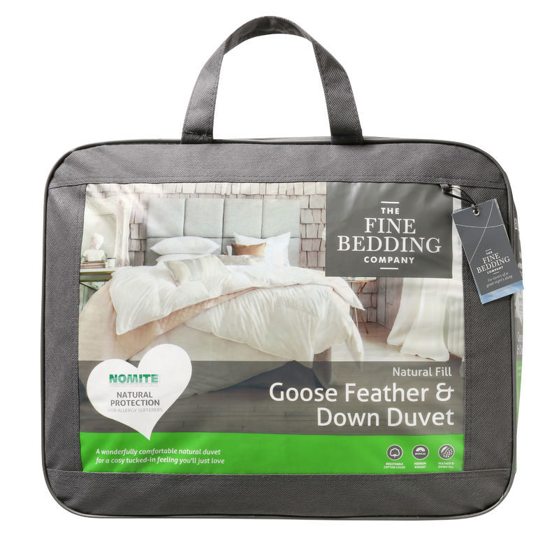 The Fine Bedding Co Goose Feather & Down Four Seasons Duvet