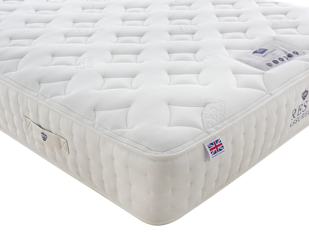 Rest Assured Wool 2000 Pocket Mattress Quilted Felice