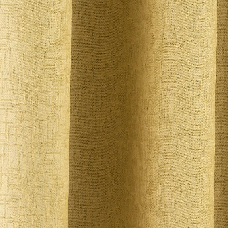Ochre Thermal Curtains Blockout Eyelet Vogue