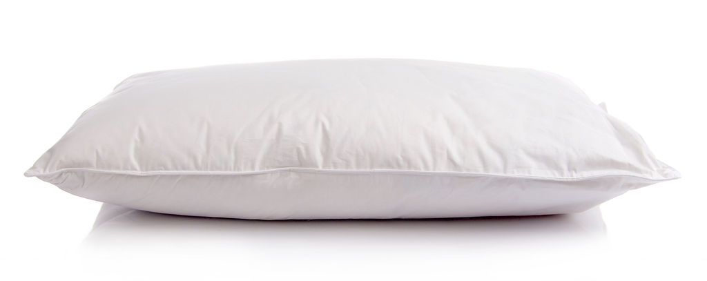 White Duck Down Surround Pillow The Soft Bedding Company