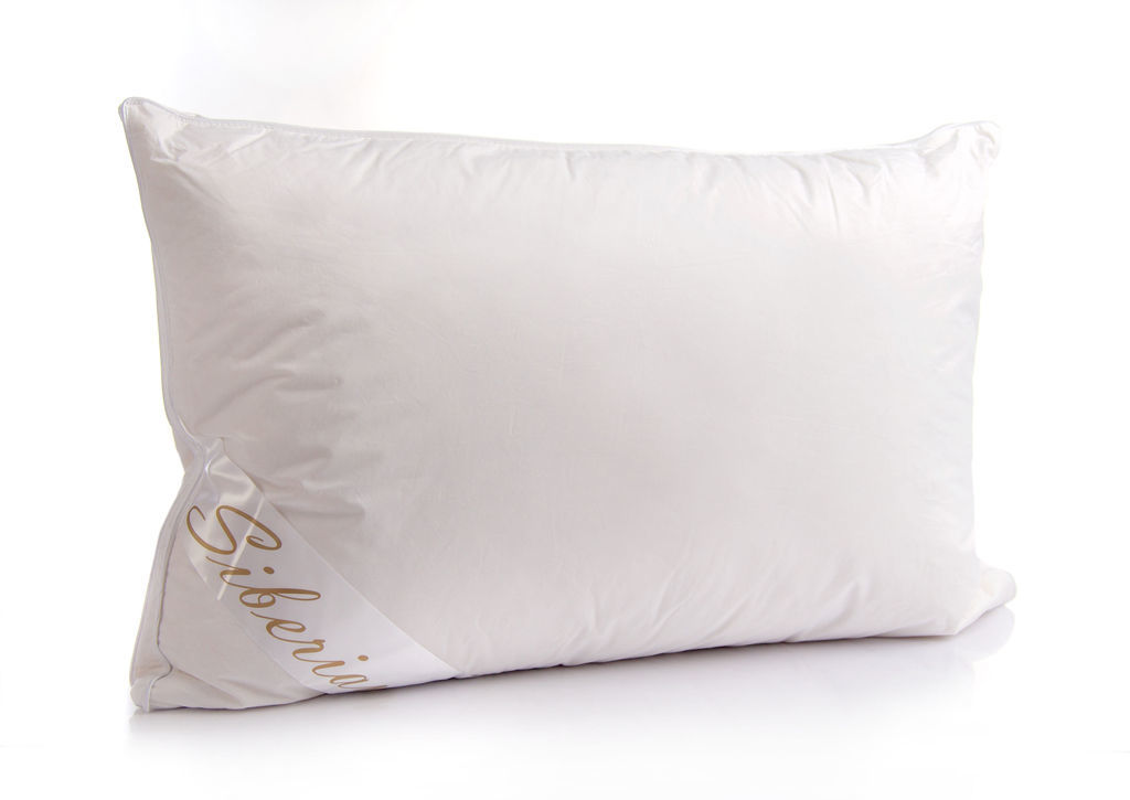 Siberian White Goose Down Pillow The Soft Bedding Company
