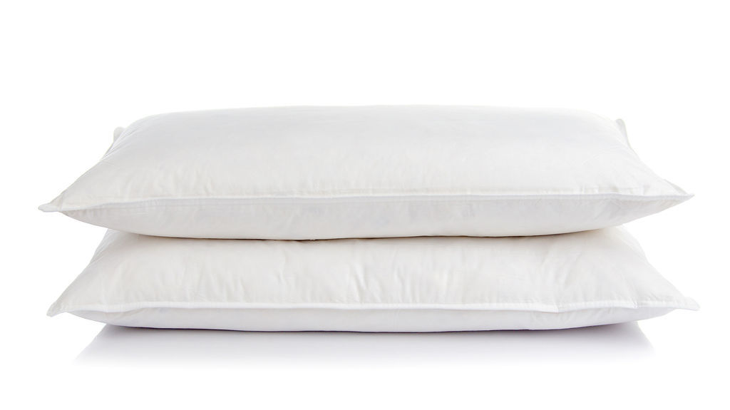 White Goose Feather And Down Pillow Pair The Soft Bedding Company