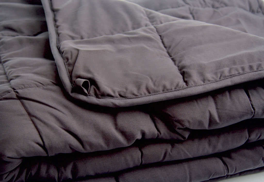 Slumber 4kg Weighted Blanket Charcoal