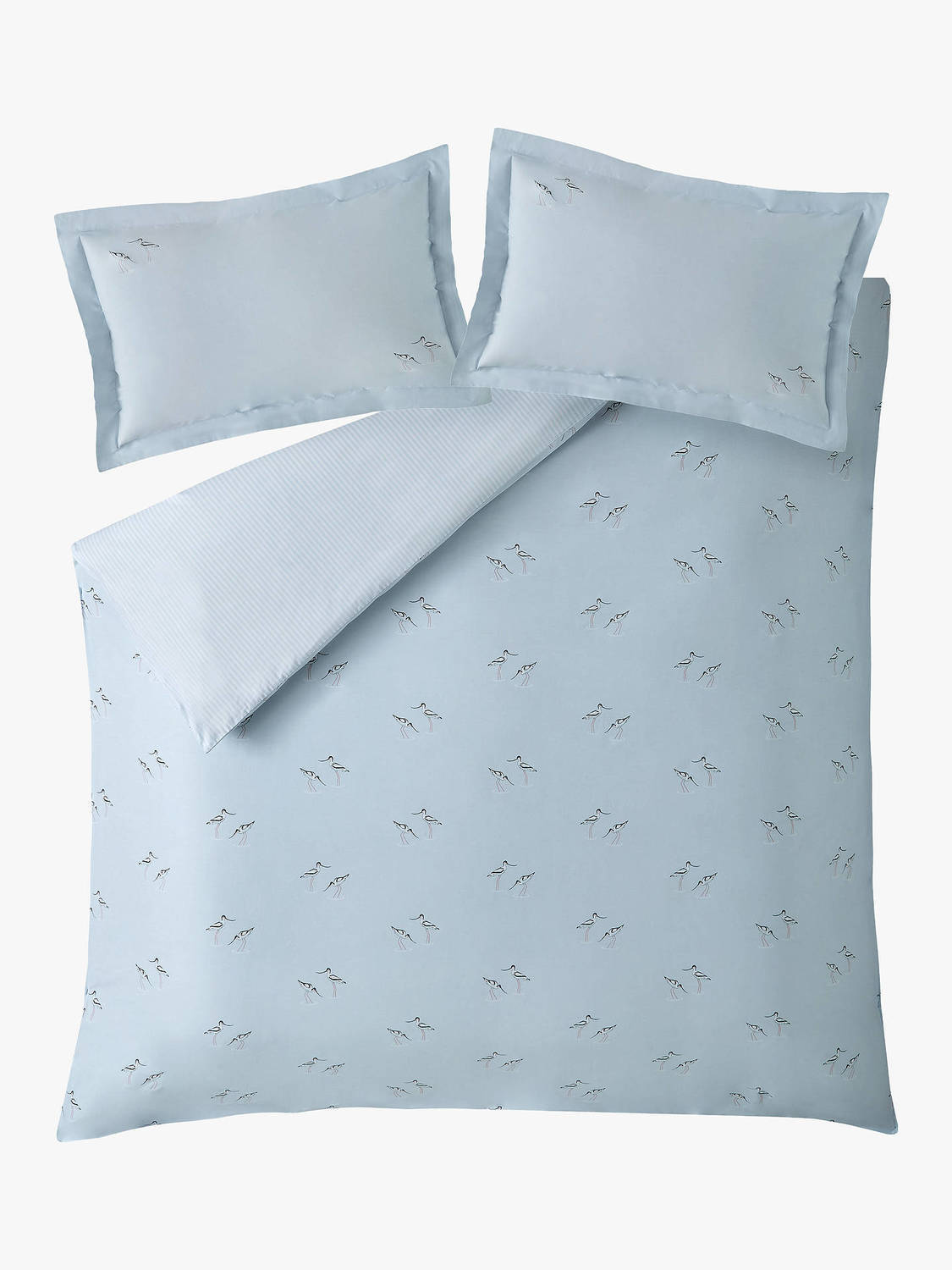 Sophie Allport Coastal Birds Oxford Pillowcase Pair