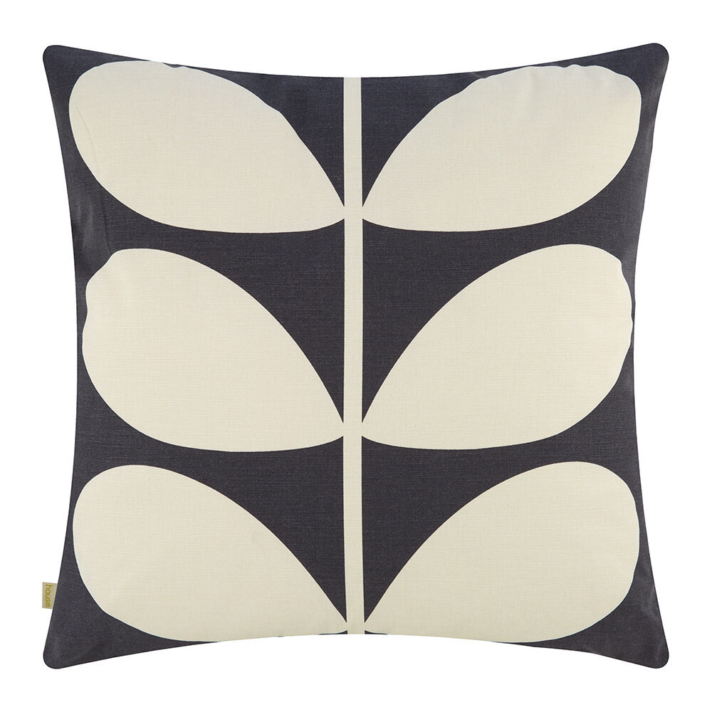 Orla Kiely Cushion Duo Stem Multi 50x50cm reverse