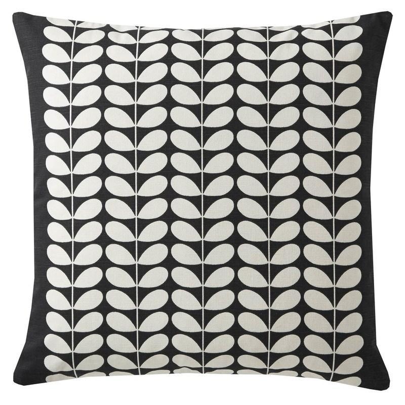 Orla Kiely Cushion Early Bird reverse