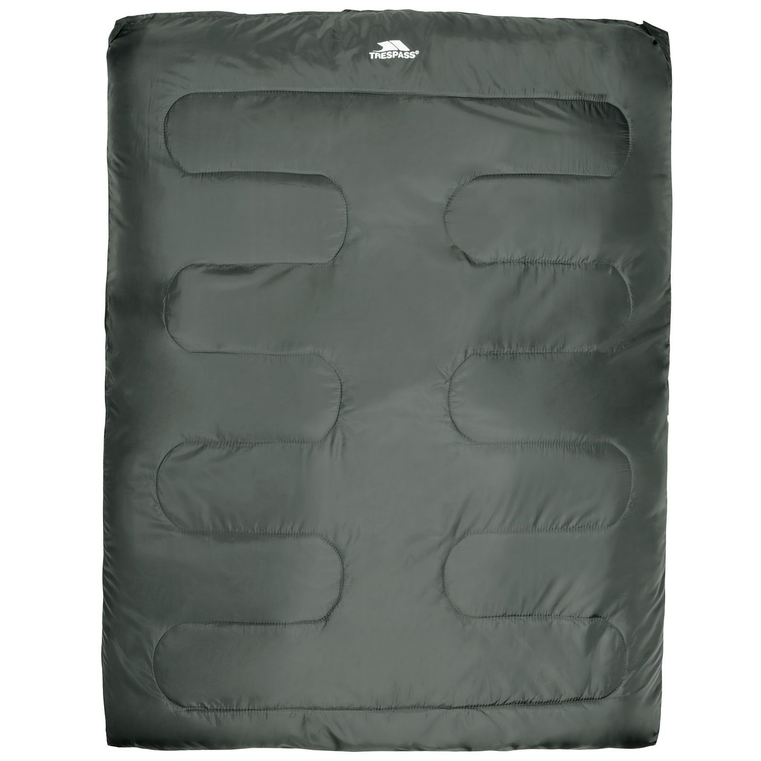 Trespass Catnap 3 Season Double Sleeping Bag - Moss