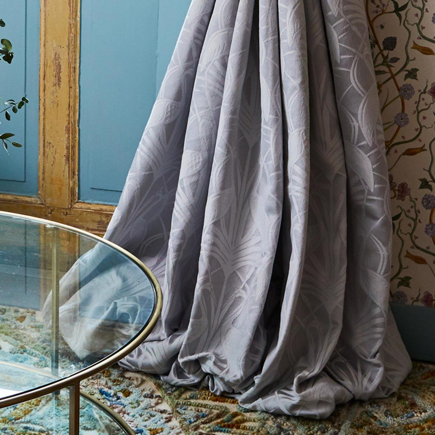 Angel Strawbridge Curtains Deco Heron Grey
