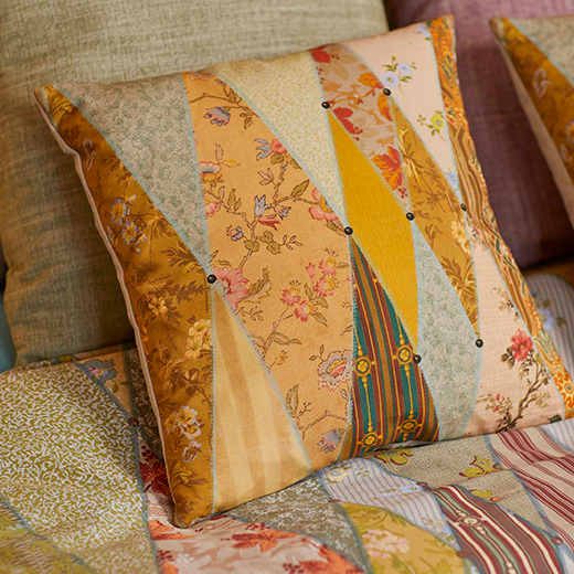 Angel Strawbridge Cushion Wallpaper Museum