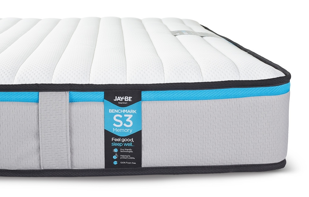 Jay Be Benchmark S3 Memory Eco Friendly Mattress