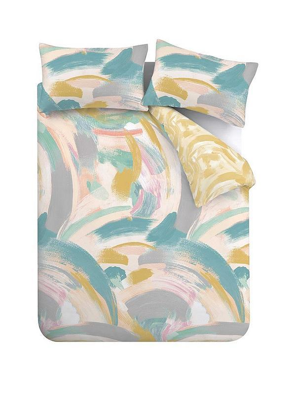 Accessorize Brush Strokes Duvet Cover Set