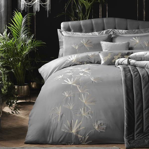 Laurence Llewelyn-Bowen Bedding Set Luxor Slate