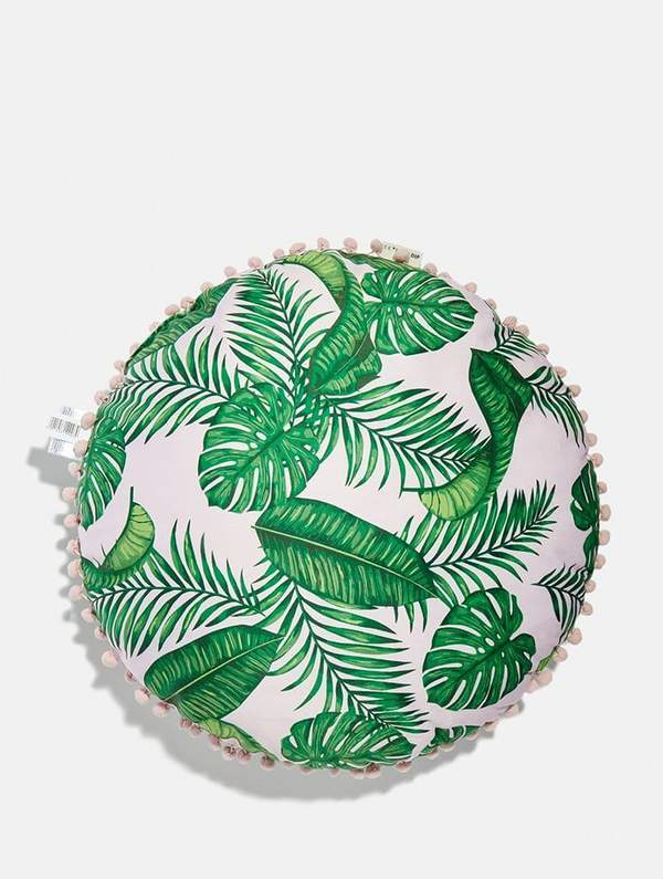 SkinnyDip Dominica Round Cushion