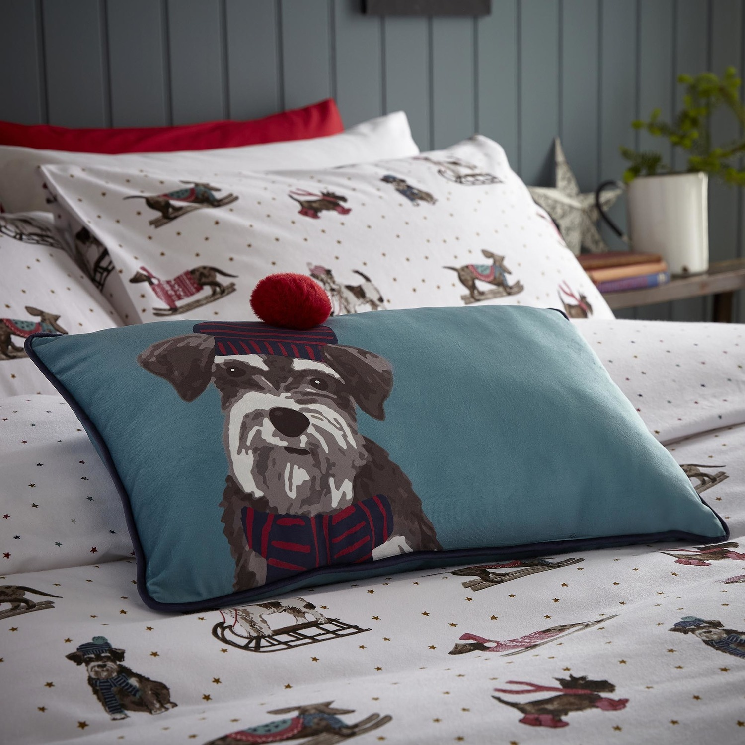 Fat Face Sledging Dogs Bedding Set