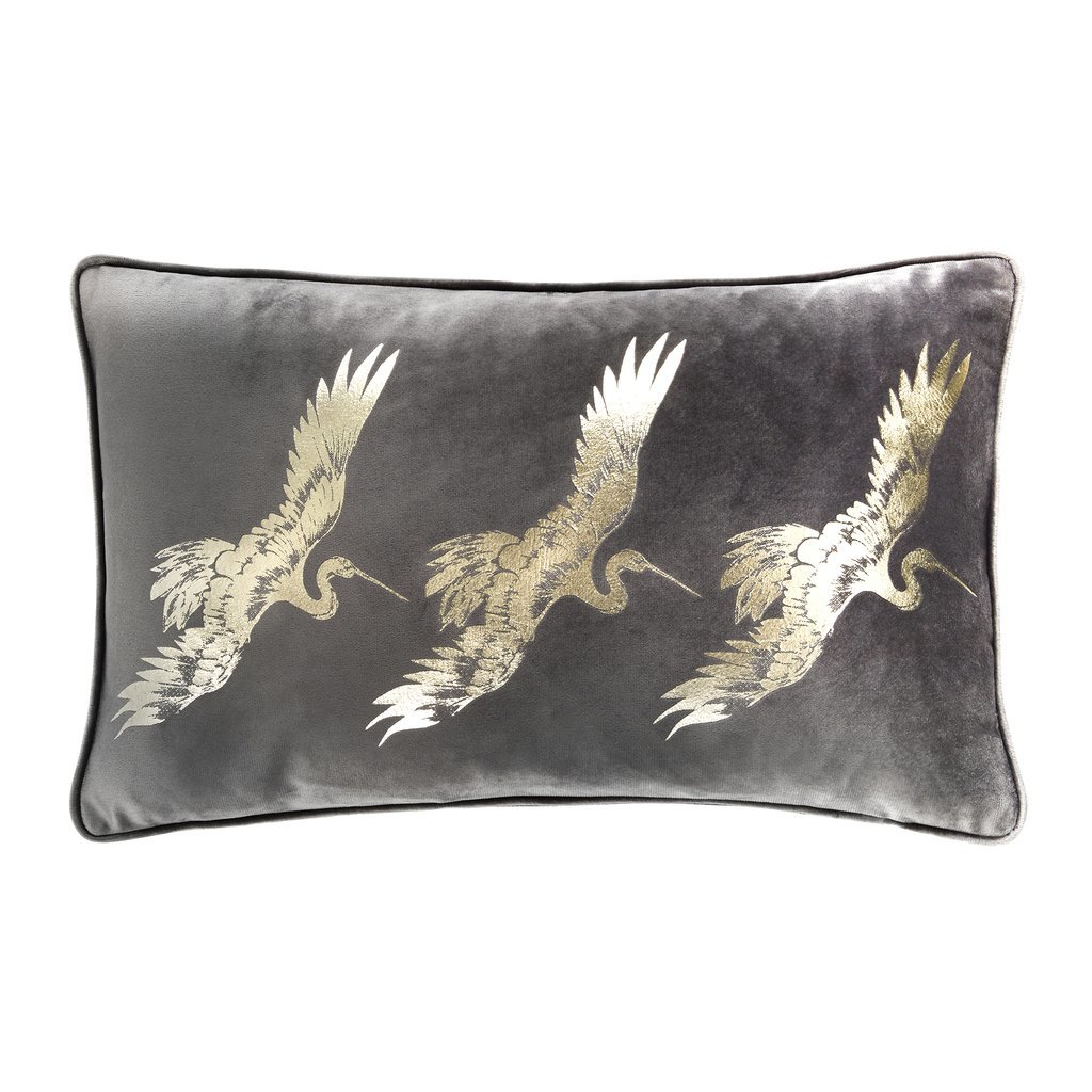 Laurence Llewelyn-Bowen Qing Filled Cushion Slate