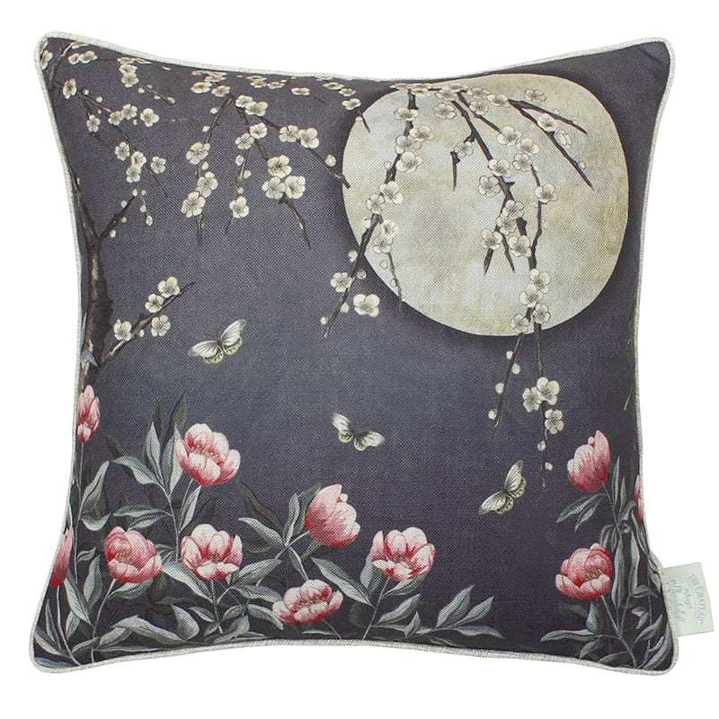 Angel Strawbridge Cushion Moonlight Midnight Blue