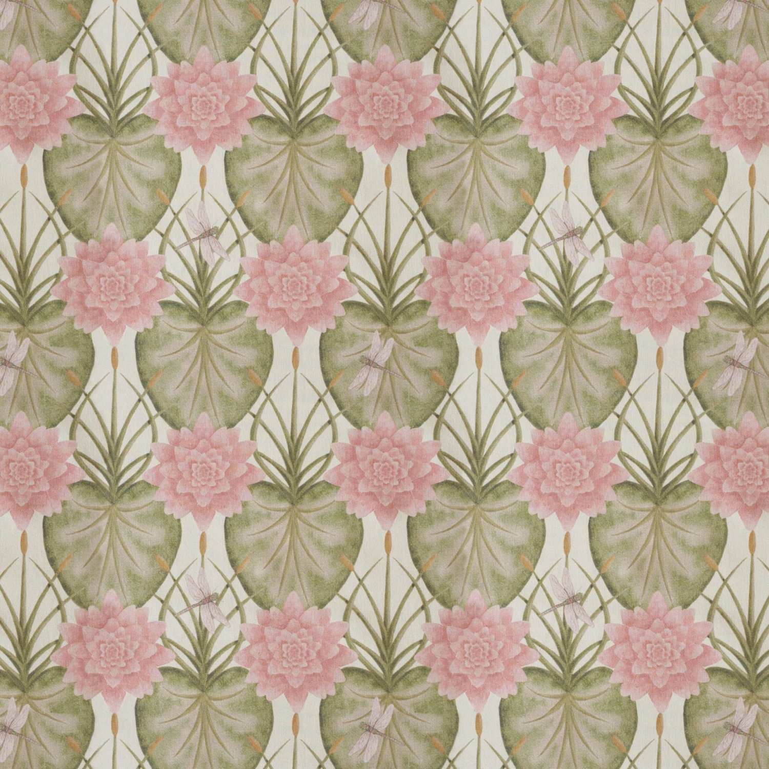 Angel Strawbridge Cushion Lily Garden 43x43cm Cream