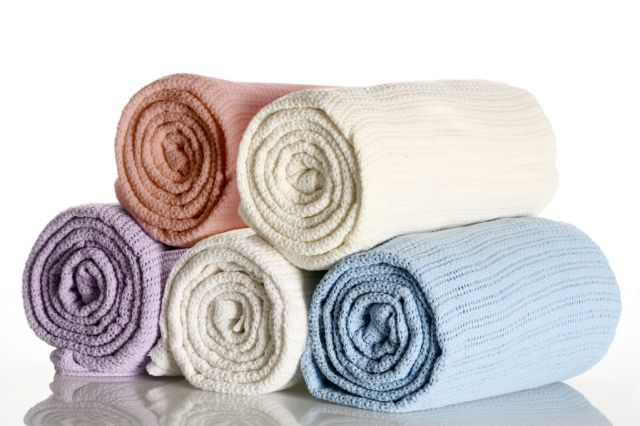100% Cotton Cellular Blankets