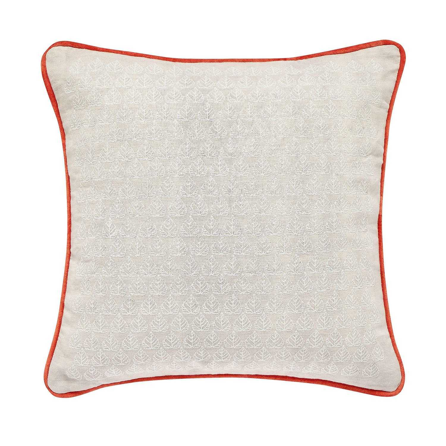 Joules Country Leaf Cushion